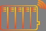 Kit per termosifoni wireless