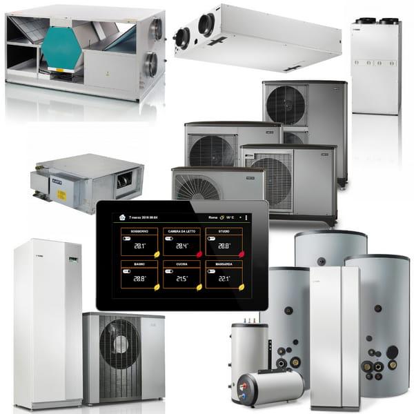 Integrazione dei sistemi di termoregolazione