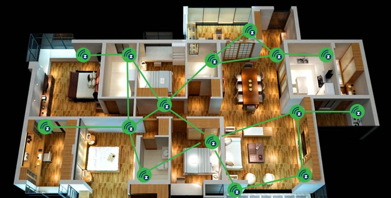 Sistema di termoregolazione wireless per installazione impianto senza opere murarie