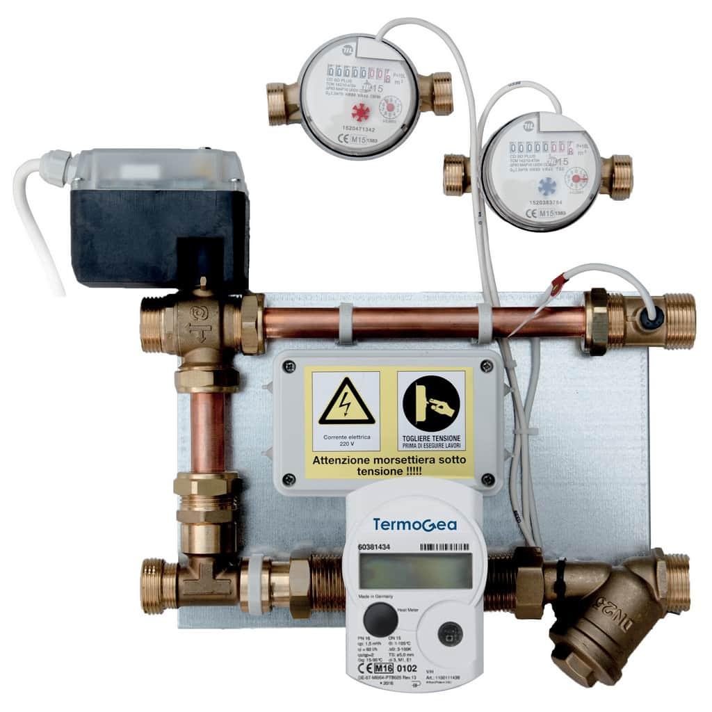 Colletori module water and energy meters