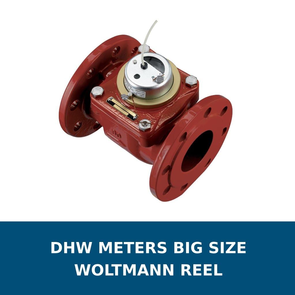 Domestic meteers big size - Woltman reel