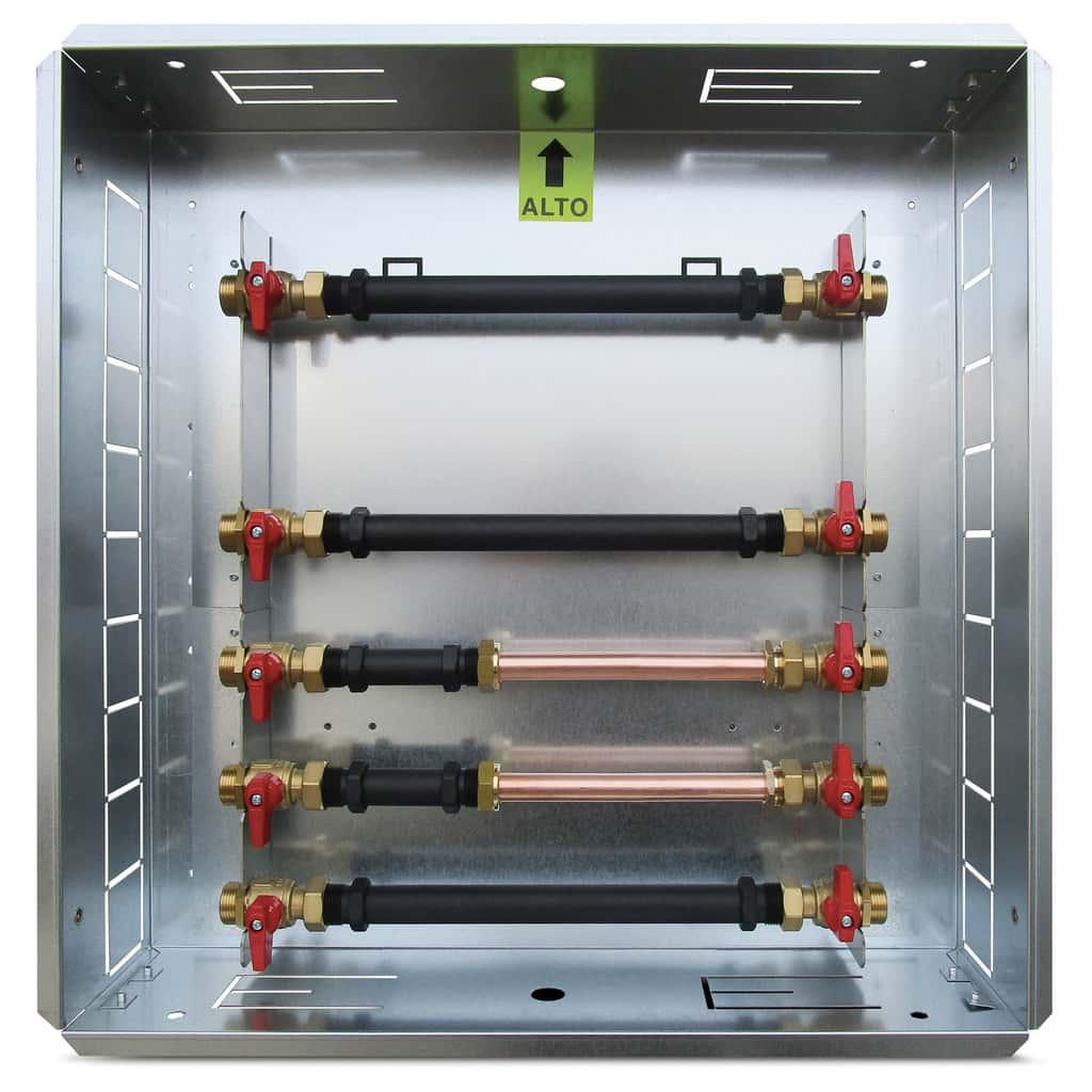 Press module box