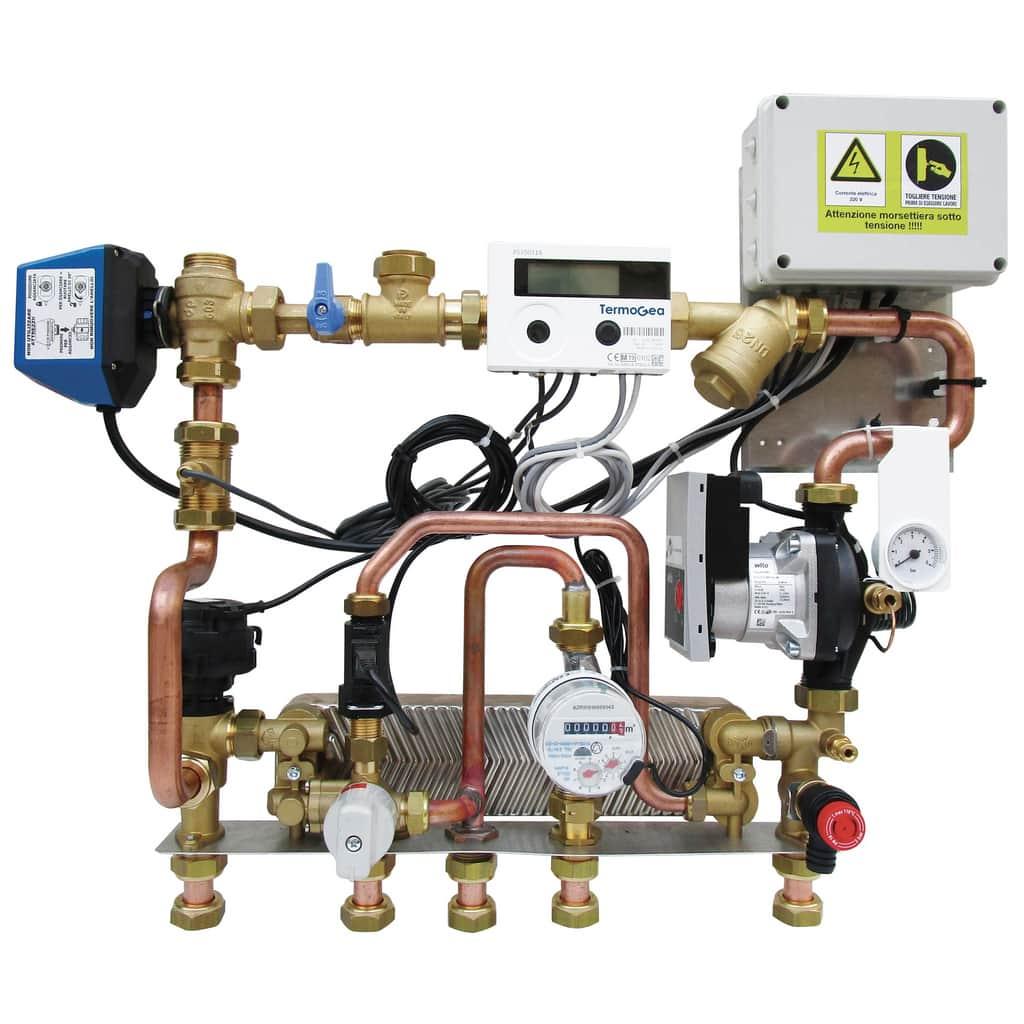 Sanit module water and energy meters