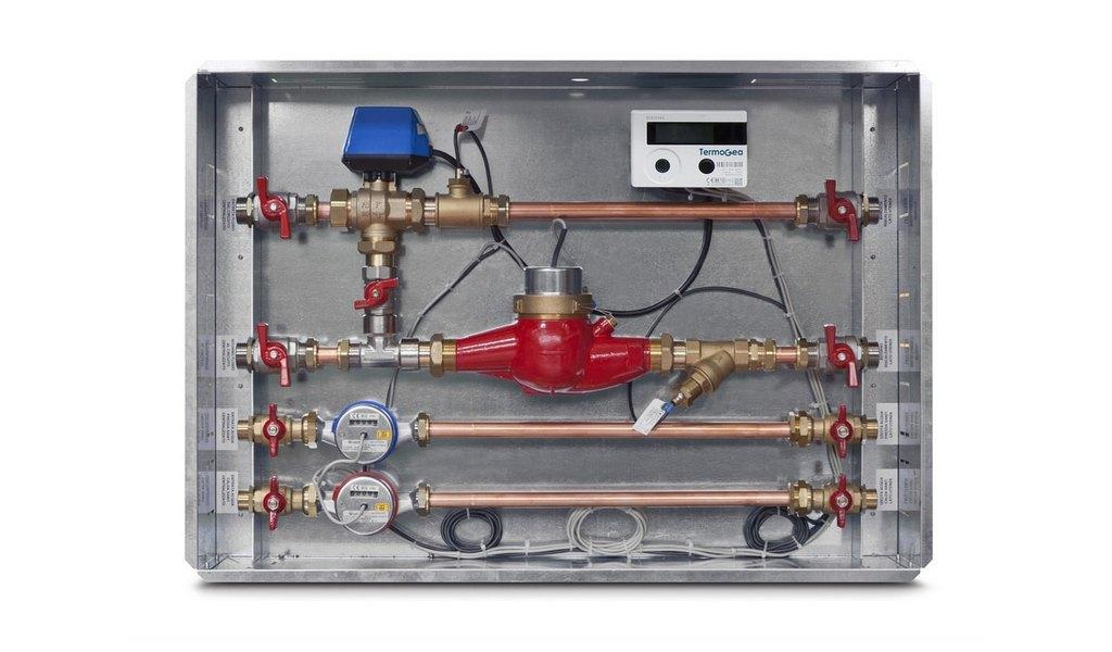 Modulo satellite High completo per la contabilizzaione di acqua ed energia
