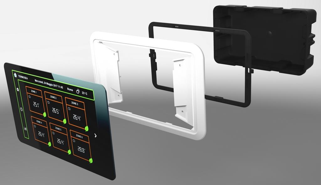 Scatola incasso Touch screen